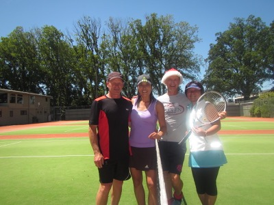 Christchurch tennis tour.