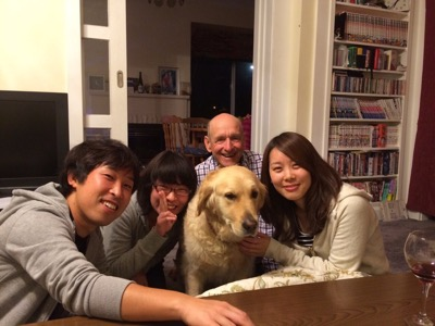 japanese guests in christchurch homestay
