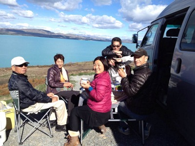 Lake Pukaki Picnic Lunch
