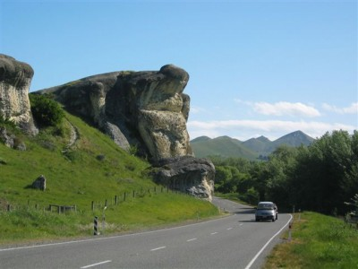 Frog Rock on the Hanmer Springs Day Tour
