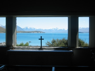 Church of the Good Shepherd at Lake Tekapo
