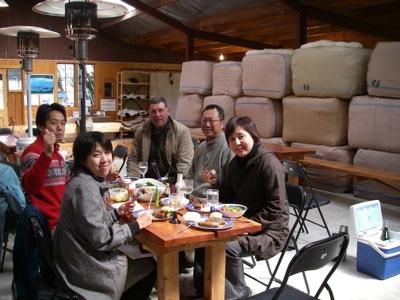 Christchurch Farm Tour Afternoon tea