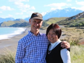 Bed and Breakfast Host s Craig and Keiko