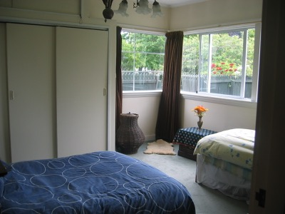 Christchurch Bed and Breakfast Main Bedroom